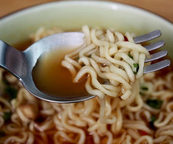 Ramen Spoon+Fork: How a Spork Should Be
