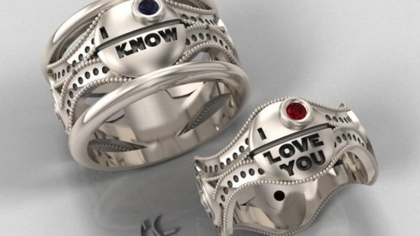 Star Wars Engagement Rings: May the Force be with Your Marriage