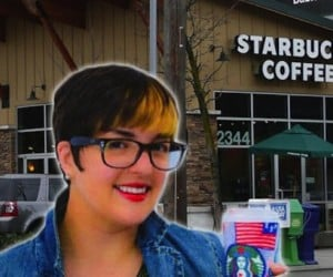 Meet Beautiful Existence, the Woman Who'll Be Living on Starbucks for a Full Year