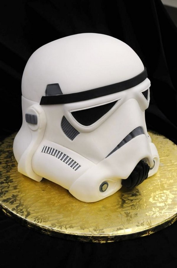 Stormtrooper Head Cake
