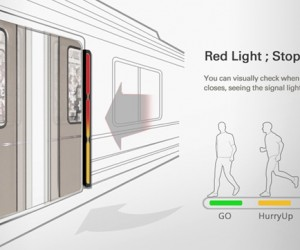 Subway Signal Light Could Reduce Train Door Accidents