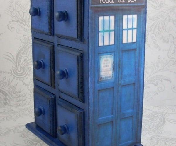 I Wish This TARDIS Jewelry Box Could Hold Infinite Treasures