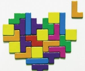 Tetris Magnets Let You Have Some Fun on Your Fridge