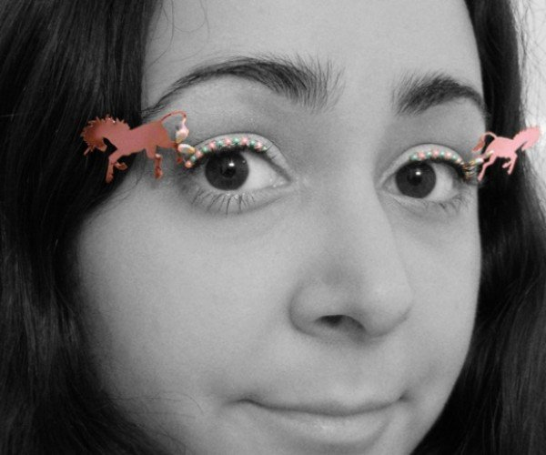 Doing a Lady Gaga: Wear Unicorns and Cupcakes on Your Eyelashes