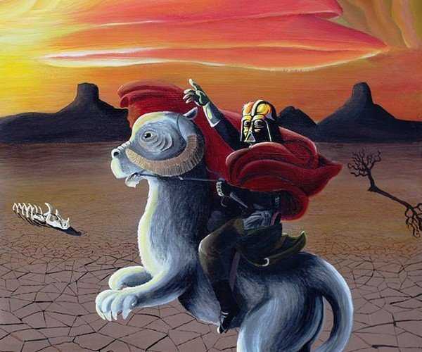 Darth Vader Riding a Tauntaun, That is All.