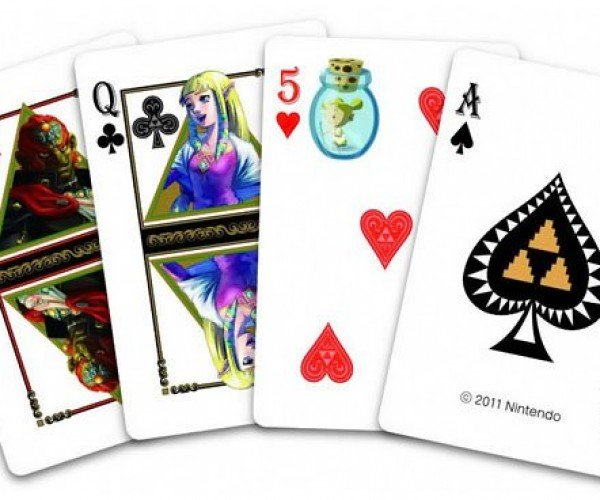 Legend of Zelda Playing Cards: It's Dangerous to Shuffle Alone