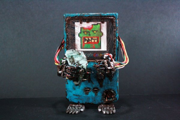 Zombie Game Boy Color: the Button Mashing Dead