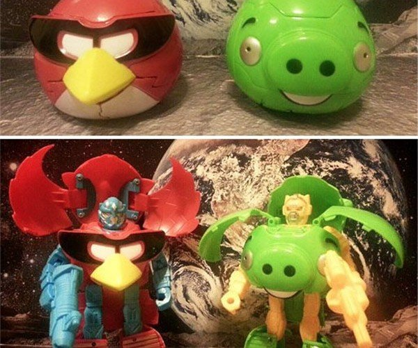 Angry Birds Transformers: Rovio in Disguise