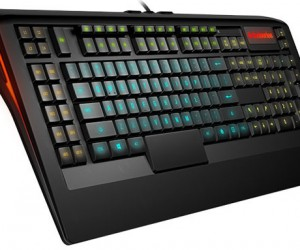 SteelSeries Apex LED Gaming Keyboard Lets You Customize its Colors