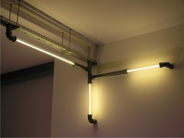 atomic clear tube lighting steampunk configuration photo