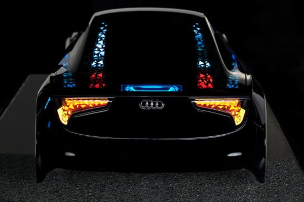 audi oled technology swarm photo