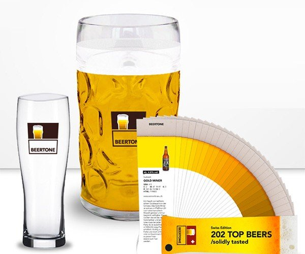 Beertone: What Color is Your Beer-achute?