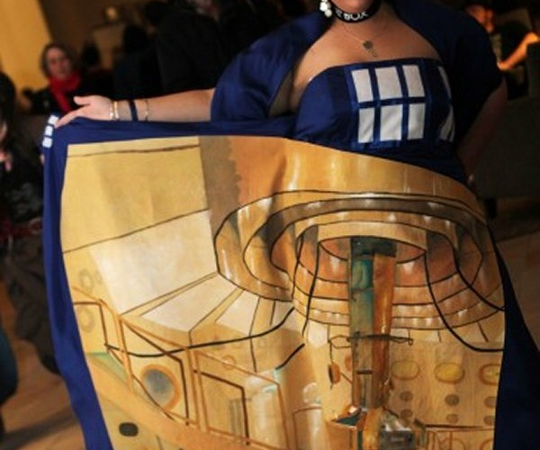 Doctor Who Dress Truly is Bigger on the Inside