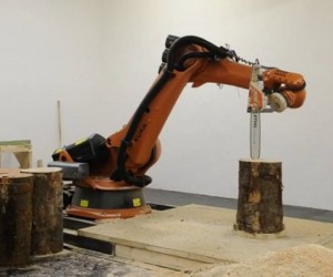 Robot with a Chainsaw: It's the End of the World as We Know It.