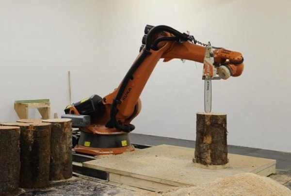 chainsaw robot