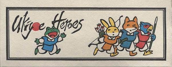 Chibi Heroes: Cutie Ukiyo-e