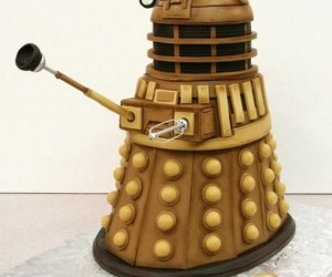 This Dalek Cake Makes for a Happy Extermination Day, I Mean Birthday