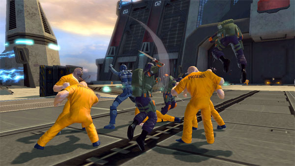 DC Universe Online Home Turf DLC Now Available: There's No Place Like Home