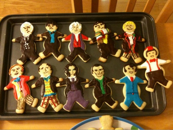 Doctor Chew: All 11 Doctors in Cookie Form