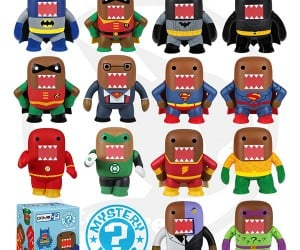 Domo Meets DC Comics to Create Greatest Vinyl Toys Ever