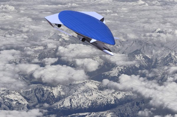 ecological airliner aircraft concept plane photo