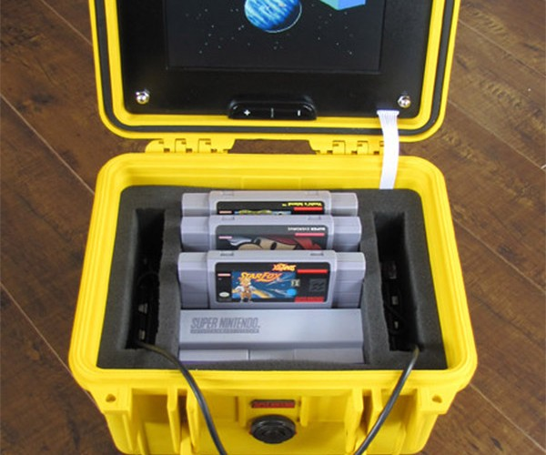 Emergency Portable SNES: Survive the Apocalypse with Super Mario World