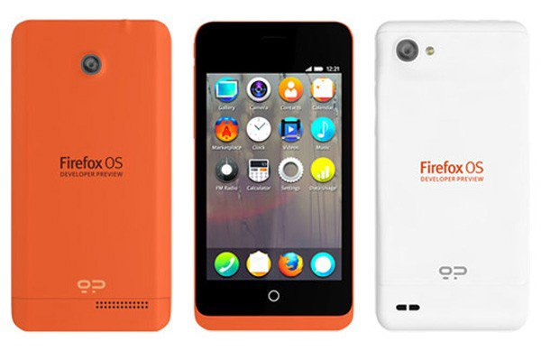 Keon Firefox OS Smartphone: Orange Phone, Freshly Squeezed