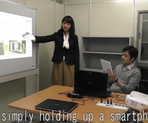 "Fujitsu Tech Lets PCs and Mobile Devices Talk and Swap Files by ""Looking"" at Each Other"