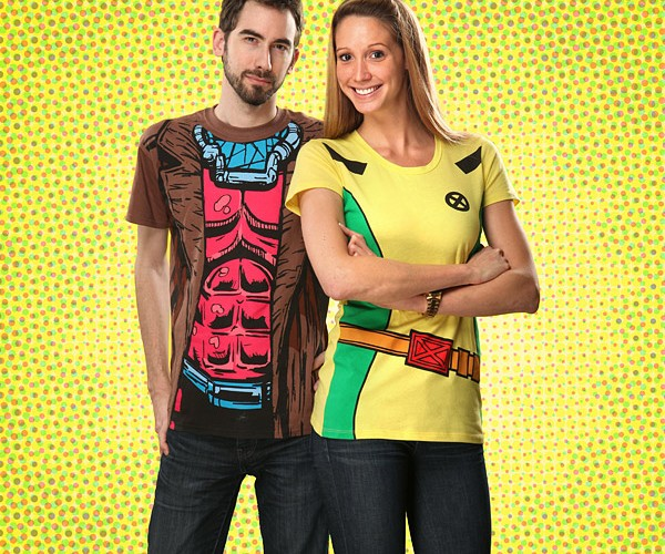 Gambit & Rogue T-shirts for You and Your Cherie