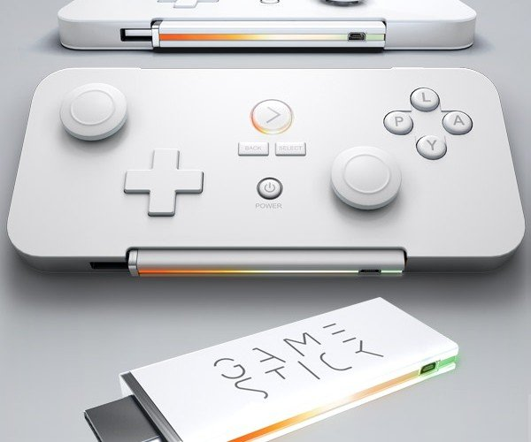 GameStick: The World's Smallest Gaming Console Fits in Its Own Controller