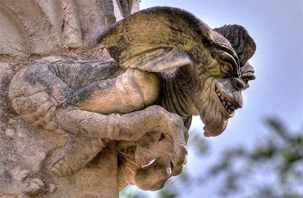 Gremlins and Gizmo Gargoyles: Let's Hope it Doesn't Rain