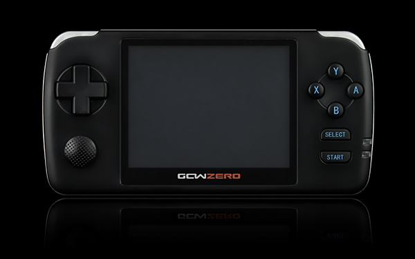 gcw zero open source gaming handheld device