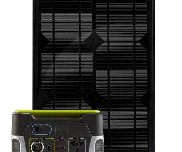 Goal Zero Yeti 150 Solar Generator Kit: Power for World War Z