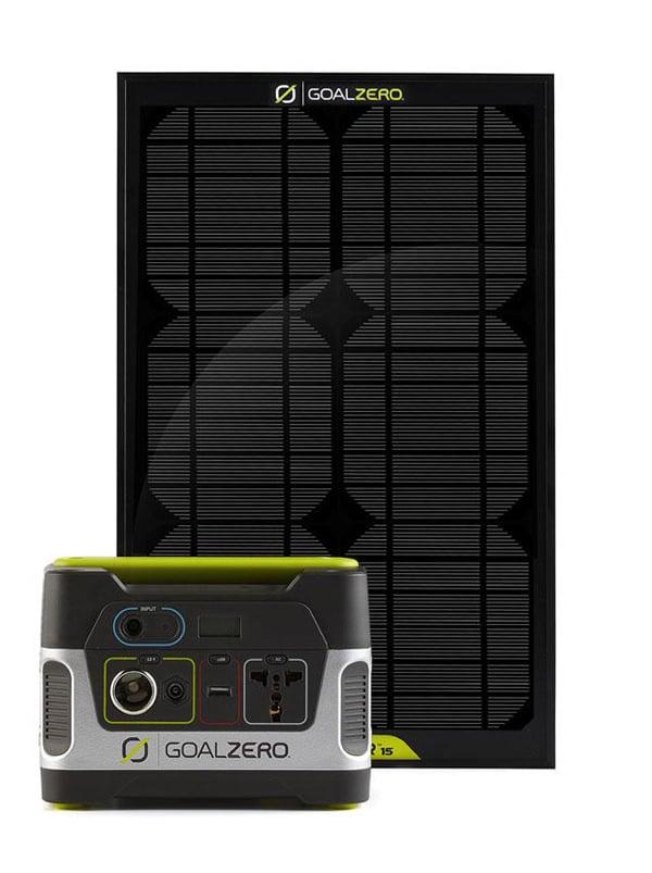 goal zero yeti 150 solar generator panel photo
