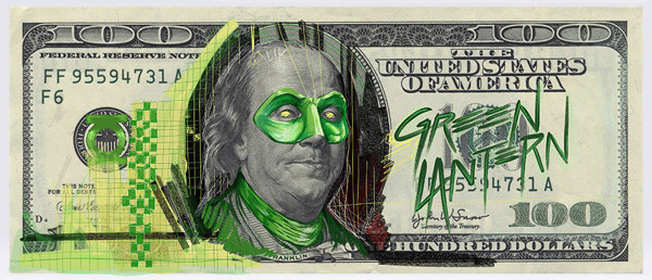 green lantern dollar justice league