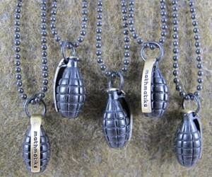 Grenade Necklaces Won't Blow Your Head off