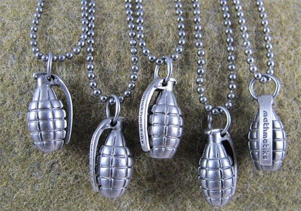 grenade necklace 2