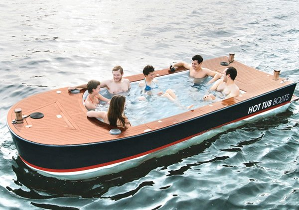 Hot Tub Boats: Because Hot Tug Boats Just Sounded Wrong