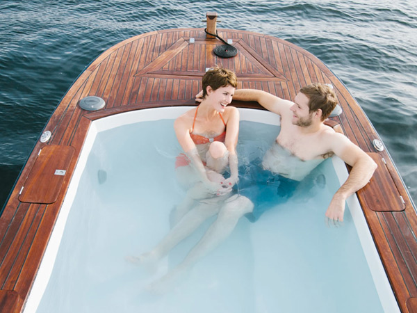 hot tub boat seattle ship pleasure craft