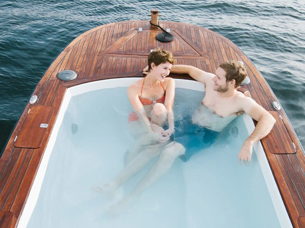 hot tub boat seattle ship pleasure craft photo