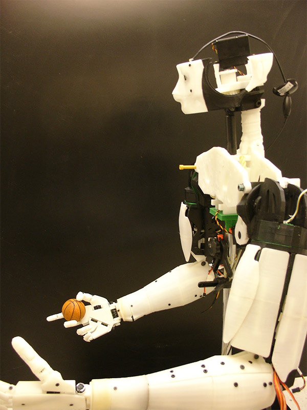 inmoov 3d printed robot 2