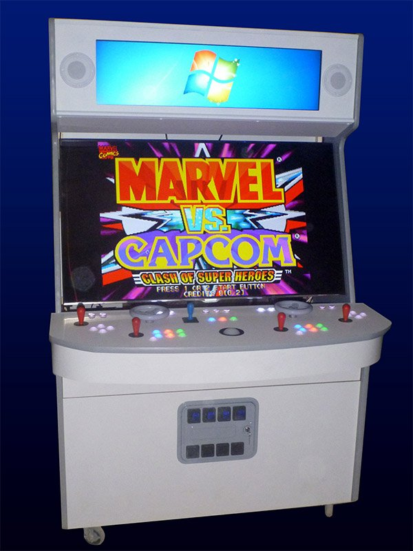 Best Arcade Cabinet Ever Has 55-inch Screen, Plays Over