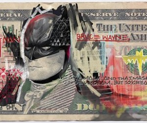 Justice League of America Defaced Bills: in Good We Trust