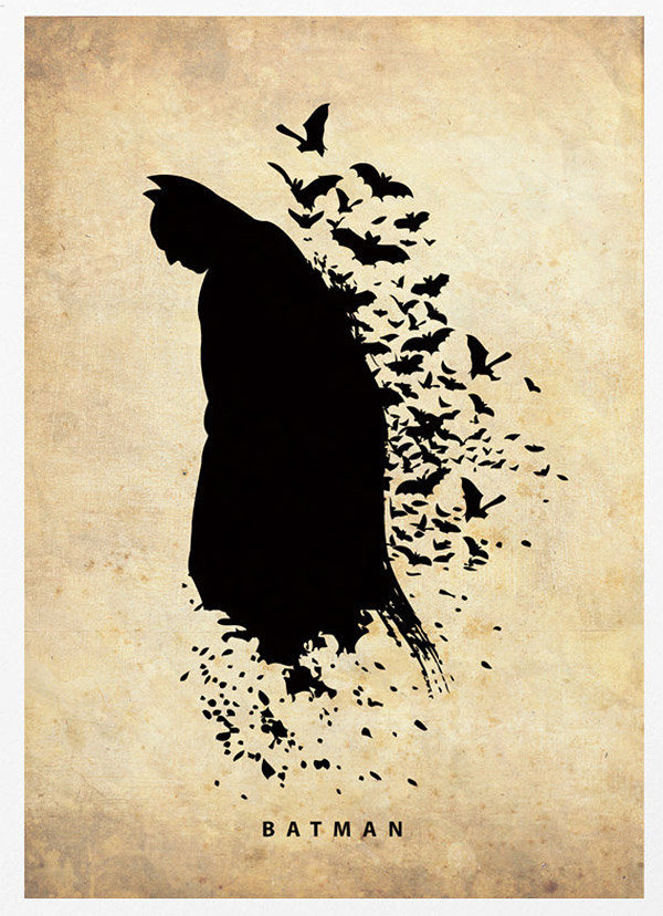 Justice League Silhouette Posters For The Walls Of
