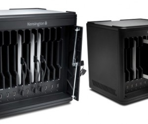 Got a Bunch of iPads to Charge? Kensington's Charge & Sync Cabinet Has Got You Covered