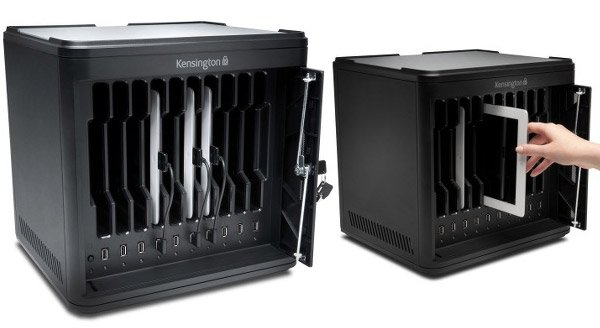 Got a Bunch of iPads to Charge? Kensington's Charge & Sync Cabinet ...