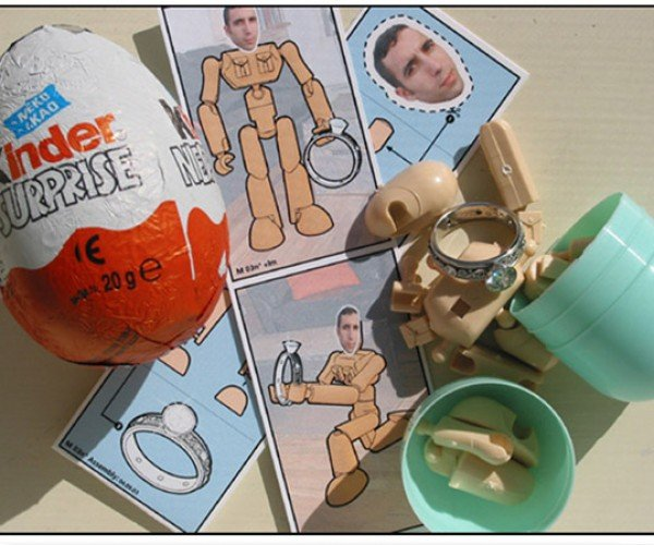 Kinder Surprise Egg Marriage Proposal Gives Bride-to-Be Everything But the Chocolate