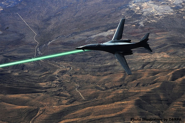 DARPA Wants to Put Defensive Lasers on Jets as Soon as 2014