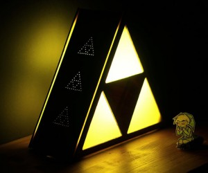 DIY Legend of Zelda Lamp: The Triforce of Thrift
