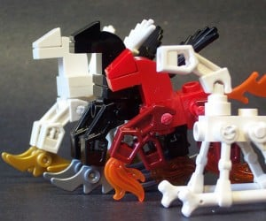 My Little LEGO Post-Apocalyptic Rocking Horse Ponies: The End Times Are Magic